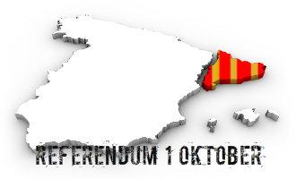 """Vraag referendum Catalonië op 1 oktober: """"Gaat u akkoord met een onafhankelijke staat in de vorm van een republiek?"""""""