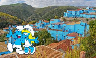 Erfgenamen van Smurfen bedenker eisen een deel van de winst van het Spaanse Smurfendorp Júzcar