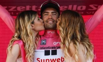 Geen podiummissen en kussen meer op de podia van de Wielerronde van Spanje