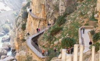 115.000 entreekaarten voor de Caminito del Rey in Málaga in de verkoop voor de herfst en winter