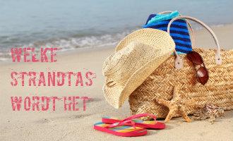 Welke strandtas neem jij mee naar het strand in Spanje deze zomer?