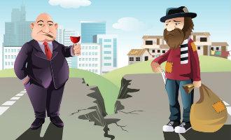 Grote verschillen tussen de rijkste en armste gemeenten van Spanje