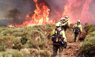 Grote bosbrand in het zuiden van Spanje legt alweer 1.400 hectare natuur in de as