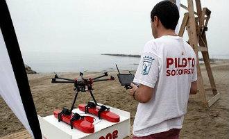 Gemeente Fuengirola maakt gebruik van drones als ondersteuning van de strandbewaking