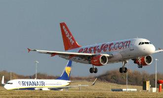 Een op de vijf vliegtuigpassagiers in Spanje vliegt met Ryanair