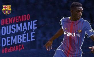 FC Barcelona neemt Fransman Dembélé over voor maar liefst 145 miljoen euro