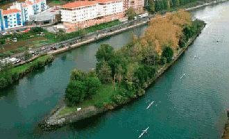 Dit eiland in Baskenland wordt elke zes maanden om de beurt van Spanje en dan van Frankrijk
