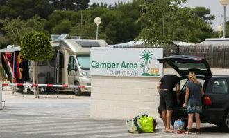 Camperparkeerplaats Playa San Juan in Alicante nog steeds niet open