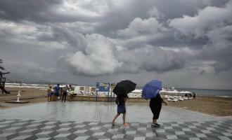 Storm en regen zorgen ervoor dat de maand augustus de natste was sinds jaren in Alicante