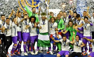 "Real Madrid wint de Spaanse Supercup ""Clásico"" van FC Barcelona met 5-1"