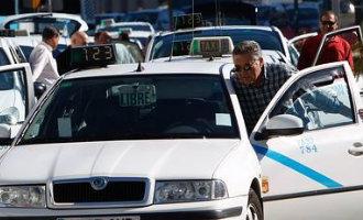 Taxichauffeurs Málaga blijven ondanks de drukte van de Feria gewoon staken *UPDATE*