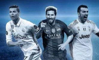 Wie wordt dit jaar de beste UEFA speler van het jaar: Messi, Ronaldo of Buffon