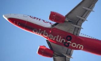 Duitse vliegmaatschappij Air Berlin vraagt faillissement aan maar krijgt krediet om door te vliegen