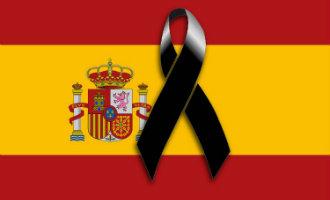 Drie dagen van nationale rouw afgekondigd in Spanje