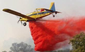 Alarm vanwege bosbrand in Sant Antoni op het Balearen eiland Ibiza *UPDATE*