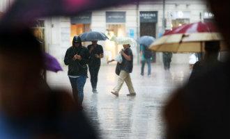 Grote storm in de provincie Málaga zorgt voor veel wateroverlast maar er komt nog meer regen aan