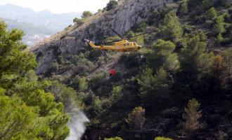 Bosbrand nabij Jávea snel geblust en evacuees konden weer naar huis