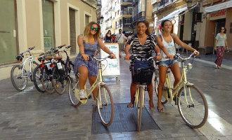 Ondernemers niet blij met het nieuwe fietsverbod in het centrum van Málaga *UPDATE*