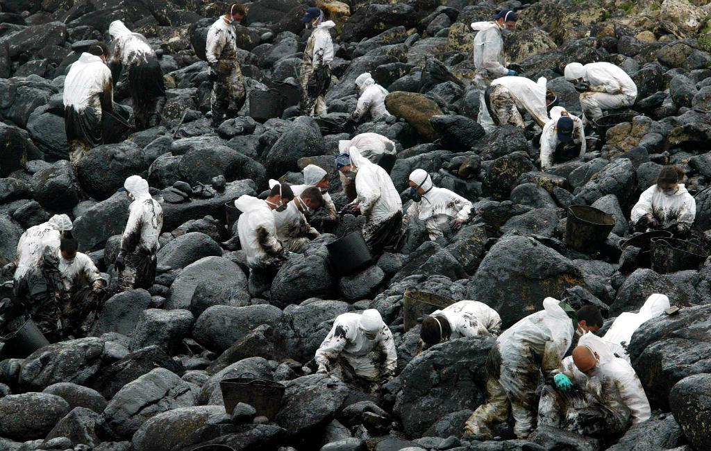 15 jaar geleden vond voor de kust van Galicië de grote Prestige olietanker ramp plaats