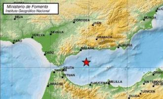 Aardbeving met een kracht 4 voor de kust gevoeld in de hele provincie Málaga