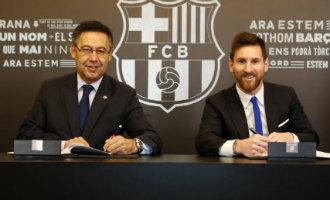 Lionel Messi tekent eindelijk nieuw contract bij FC Barcelona