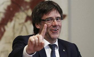 """Puigdemont heeft de Catalaanse Republiek niet verkondigd om """"bloedbad"""" te vermijden"""