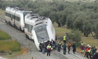 Minstens 27 gewonden na ontsporing trein op traject Málaga-Sevilla
