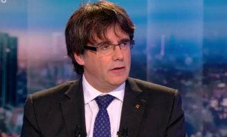 Afgezette regiopremier Puigdemont richt nu zijn pijlen op de Europese Unie