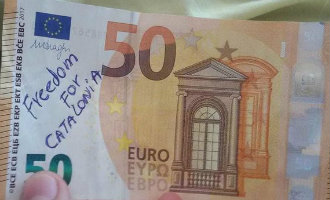 """Houdt je portemonnee in de gaten nu er """"Catalaanse eurobiljetten"""" in omloop zijn"""