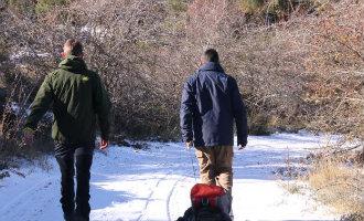 Lage temperaturen en eerste sneeuw in de provincie Alicante
