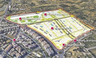 """Salou wil vier nieuwe """"resorts"""" met 2.000 hotelkamers, een winkelcentrum en een sportpark aanleggen"""