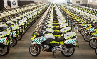 Verkeersdienst Guardia Civil krijgt 291 nieuwe BMW motoren
