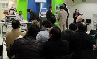 Werkloosheid Spanje opnieuw gestegen met 7.255 personen