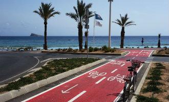 Benidorm aast op Europees geld voor nieuwe fietspaden langs de kust