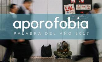 """""""Aporofobia"""" is het Spaanse woord geworden van 2017"""