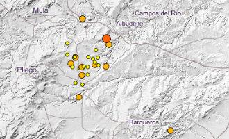 Murcia heeft te maken gehad met 24 aardbevingen in 24 uur tijd
