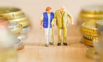 Het gemiddelde ouderdomspensioen in Spanje is in januari bruto 1.074 euro per maand