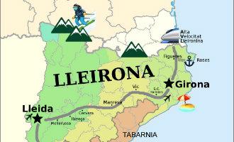 Na de Catalaanse geplande afscheiding kwam Tabarnia en nu ook Lleirona