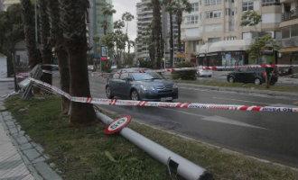 Slecht weer zorgt voor wateroverlast en problemen in Málaga en Alicante