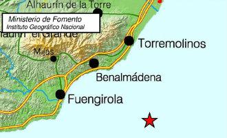 Aardbeving van 3,4 op Richter schaal voor de kust van Málaga