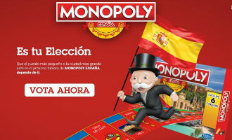Stem mee om de Spaanse steden en dorpen te kiezen van het nieuwe Monopoly spel
