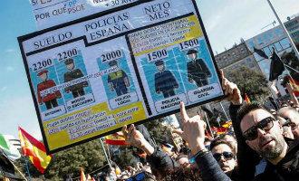 Duizenden agenten de straten op van Barcelona tijdens demonstratie