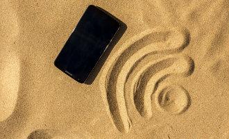 Alle stranden van Benidorm hebben met Pasen gratis wifi internet