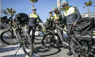 Lokale politie Alicante krijgt fietsen met trapondersteuning
