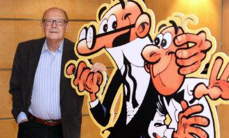 Stripalbum helden Paling & Ko vieren zestigste verjaardag als Mortadelo y Filemón in Spanje