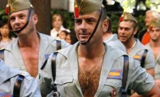 Militairen van het Spaanse Vreemdelingenlegioen moeten op dieet