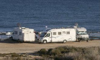 Ondanks opening camperplaats is het hondenstrand van Alicante het meest geliefd om te staan