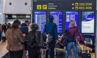 Slecht weer zorgt voor chaos op Canarische vliegvelden