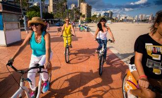 Benidorm heeft zichzelf opnieuw in België gepresenteerd als bikefriendly stad … klopt dat?
