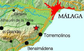 Kleine aardbeving met een kracht van 2,8 gemeten in Alhaurín de la Torre